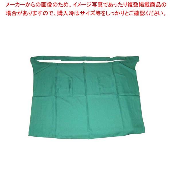 【まとめ買い10個セット品】 【 業務用 】エプロン CT2522-4 グリーン