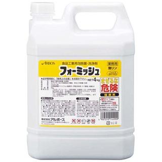 【まとめ買い10個セット品】 【 業務用 】アルボース 食品工業用泡除菌・洗浄剤 フォーミッシュ 20kg