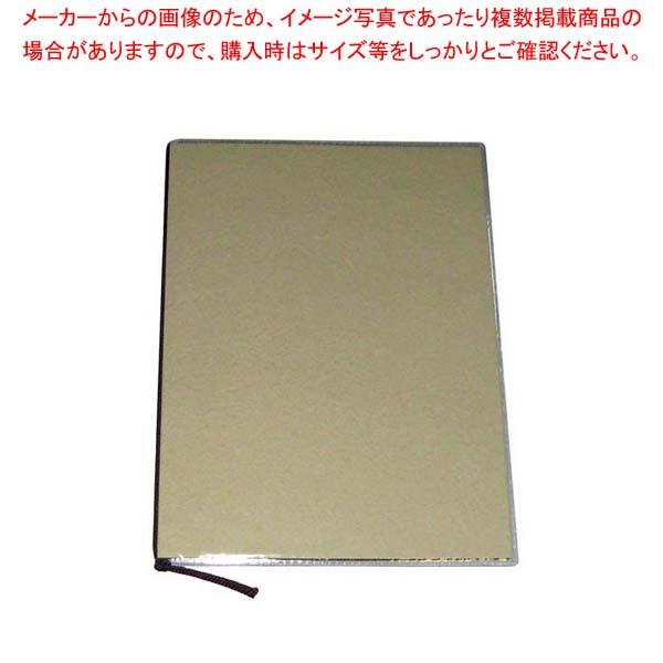【まとめ買い10個セット品】 【 業務用 】えいむ クラフトクランプルメニューブック SB-511 大 アイボリー