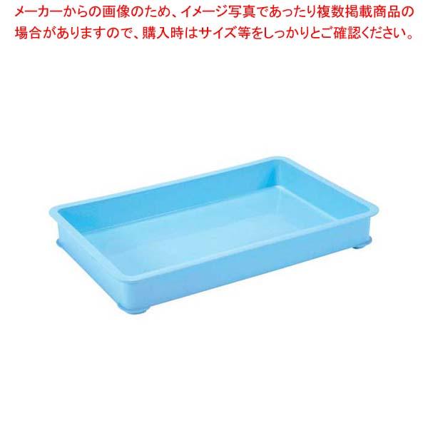 【まとめ買い10個セット品】 【 業務用 】EBM PPカラー番重 A型 特大 ブルー(サンコー製)