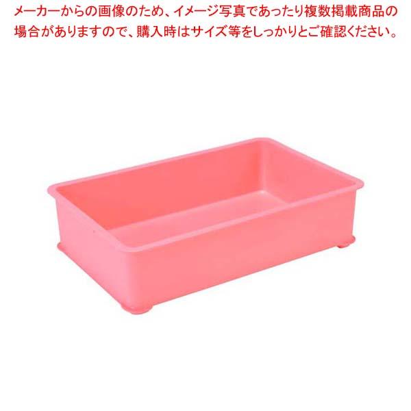 【まとめ買い10個セット品】 【 業務用 】EBM PPカラー番重 A型 大 ピンク(サンコー製)