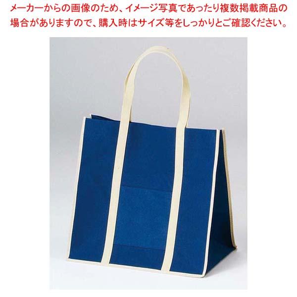 【まとめ買い10個セット品】 【 業務用 】ファインビュー不織布バッグ(10枚入)大 ネイビー