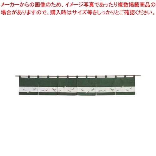 【まとめ買い10個セット品】 【 業務用 】のれん 松葉ちらし 118-09 松葉 1700×250