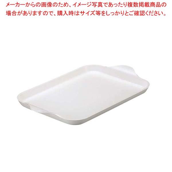 【まとめ買い10個セット品】 【 業務用 】ガイオ トレー M ホワイト ABS樹脂