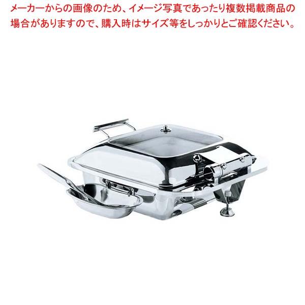 角型スマートチューフィング(ガラス蓋仕様)15601【 ビュッフェ関連 】 【厨房館】