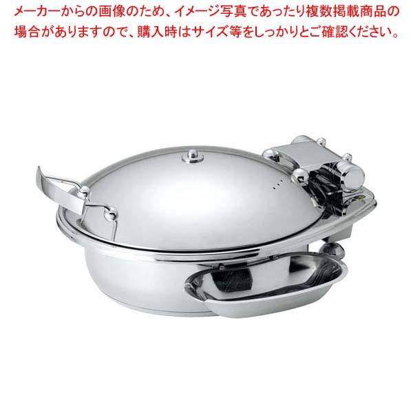 丸型スマートチューフィング(ステンレス蓋仕様)L 15300【 ビュッフェ関連 】 【厨房館】