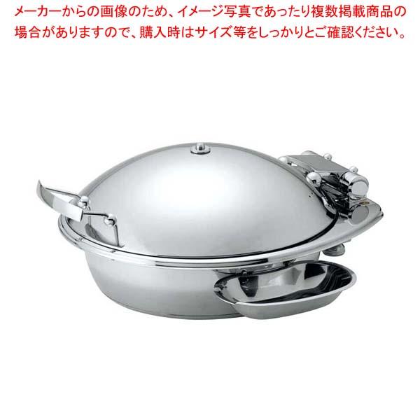 丸型スマートチューフィング(ステンレス蓋仕様)M 15302【 ビュッフェ関連 】 【厨房館】