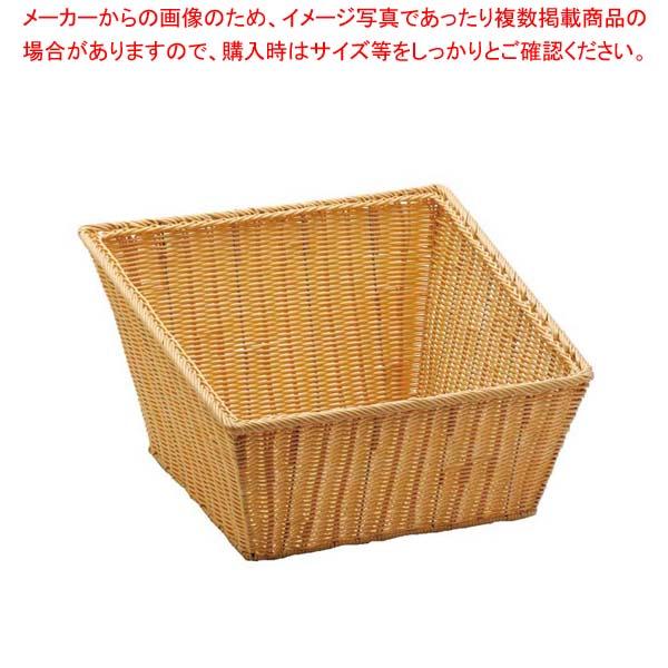 【まとめ買い10個セット品】PP 角型バスケット L 40153【 ディスプレイ用品 】 【厨房館】