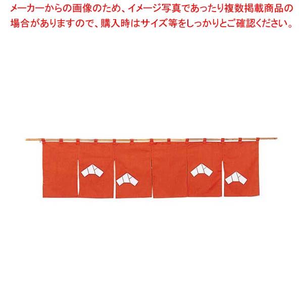 【まとめ買い10個セット品】 【 業務用 】文 のれん N107-10 茶 1700×450