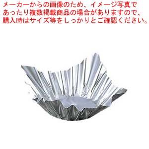 【まとめ買い10個セット品】アルミ すき鍋 銀 M33-244(100枚入)小【 卓上鍋・焼物用品 】 【厨房館】