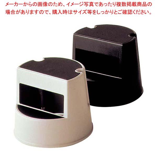 【まとめ買い10個セット品】 【 業務用 】ラバーメイド ステップスツール 丸型 2523 ブラック