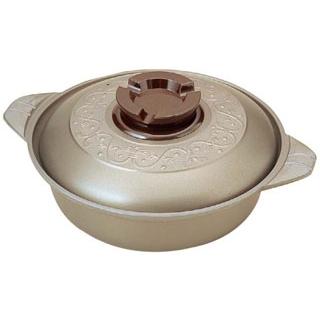 【まとめ買い10個セット品】しゅう酸 アルミ ちり鍋 24cm 【厨房館】