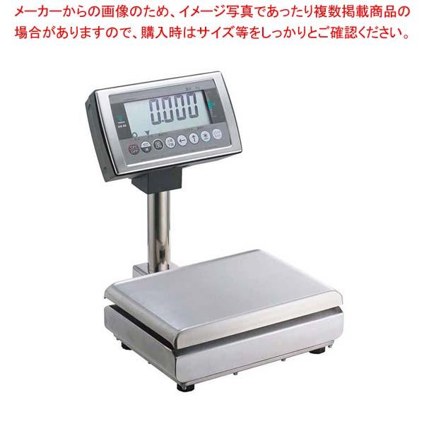 【 業務用 】テラオカ 防水・防塵型デジタルはかり卓上型 DS-55S-WP 15kg 【 メーカー直送/代金引換決済不可 】