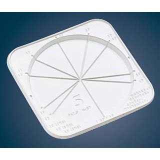 【まとめ買い10個セット品】 【 業務用 】ケーキトレー(50枚入)CLデコ皿8号