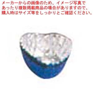【まとめ買い10個セット品】 【 業務用 】アルミ チョコカップ(1000枚入)ハート型 青