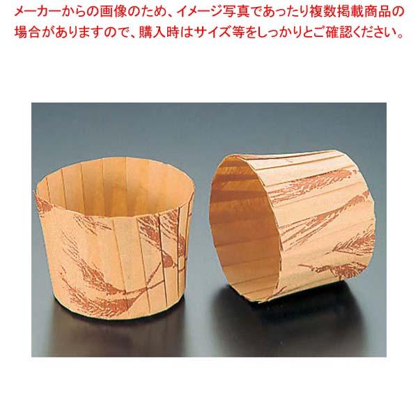 【まとめ買い10個セット品】 【 業務用 】マフィンカップ 小麦柄(80枚入)M-109 φ65