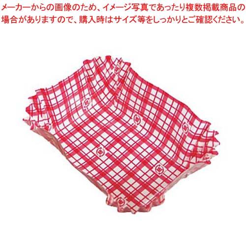 【まとめ買い10個セット品】 【 業務用 】ココ・ケース(500枚入)角特大 赤