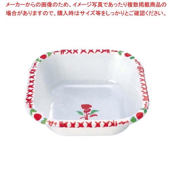 【まとめ買い10個セット品】 【 業務用 】プラカップ 赤絵 角型 TZ-5(500枚入)
