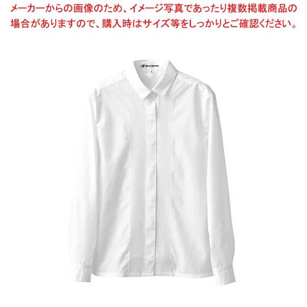 【まとめ買い10個セット品】 【 業務用 】ブラウス CF1558-0(ピンタック長袖)15号