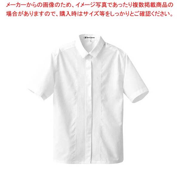 【まとめ買い10個セット品】 【 業務用 】ブラウス CF1507-0(ピンタック半袖)15号