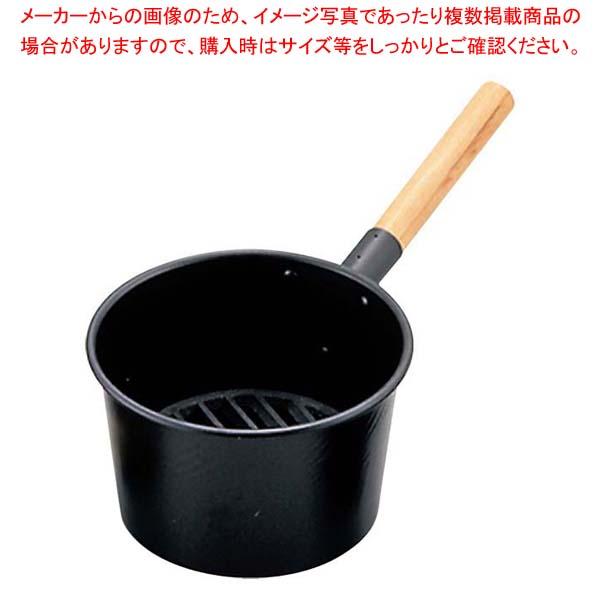 【まとめ買い10個セット品】鉄 木柄 火起し 21cm【 焼アミ 】 【厨房館】