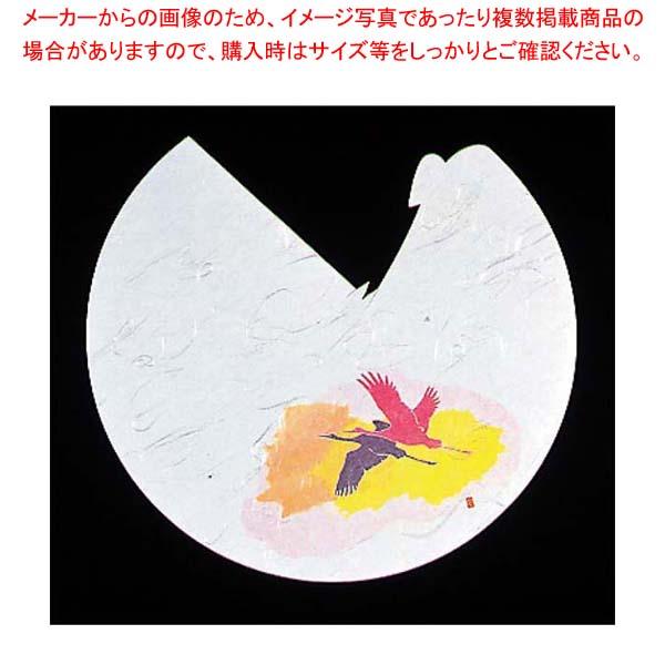 【まとめ買い10個セット品】 【 業務用 】遊膳 料理ぼうし四季(100枚入)RB-01 祝つる