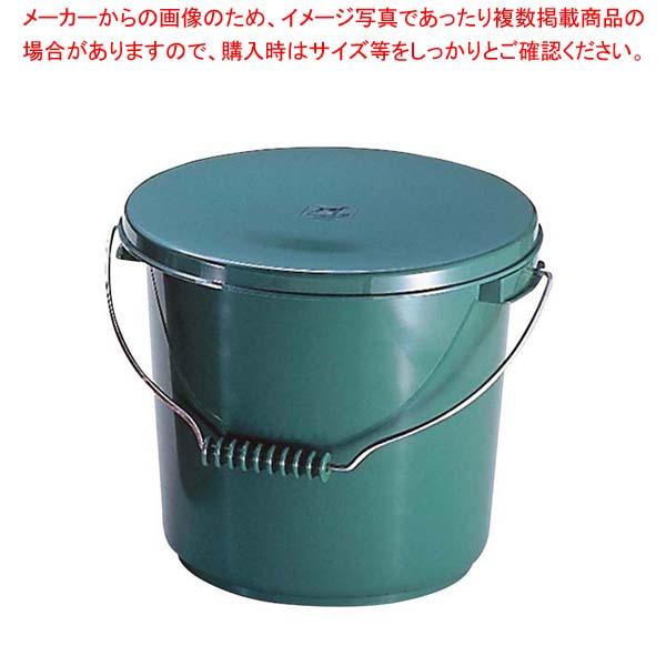 【まとめ買い10個セット品】 【 業務用 】PPバケツ 10L PO-22A 本体 グリーン