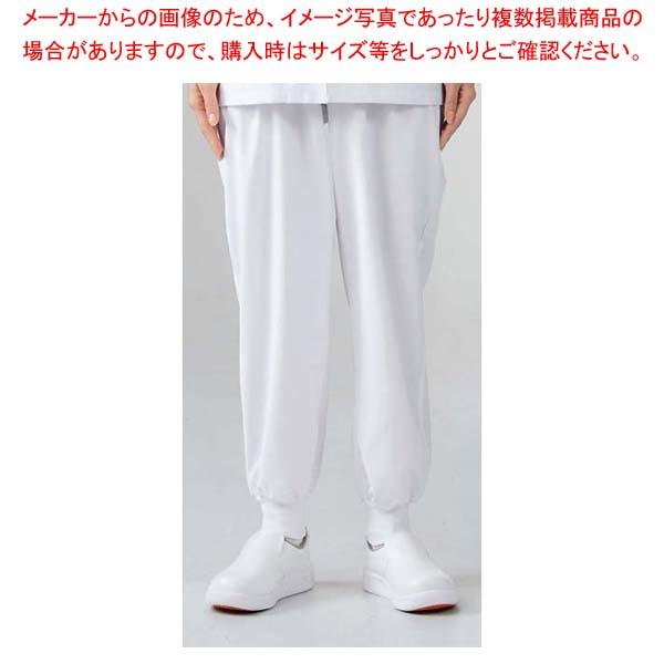 【まとめ買い10個セット品】 【 業務用 】男女兼用パンツ 7-521 白 L