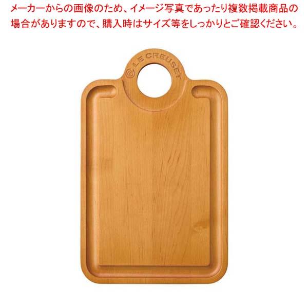 【まとめ買い10個セット品】 【 業務用 】ル・クルーゼ メープル・ウッド・カッティングボード 965005