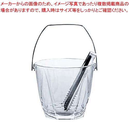 【まとめ買い10個セット品】ガラス アイスペール サージュ M-6830【 ワイン・バー用品 】 【厨房館】
