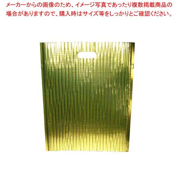 【まとめ買い10個セット品】保冷・保温バッグ エスケークール ゴールド(10枚入)LC-L【 運搬・ケータリング 】 【厨房館】