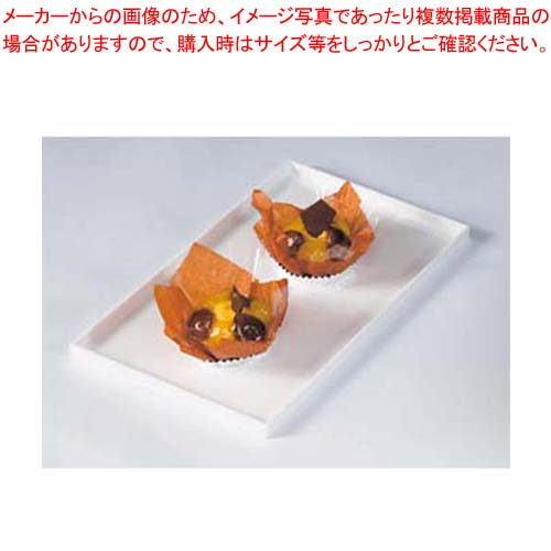 【まとめ買い10個セット品】 【 業務用 】菓子ケース用バット タイプ2 白