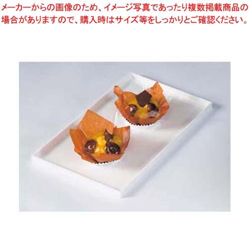【まとめ買い10個セット品】 【 業務用 】菓子ケース用バット タイプ3 白