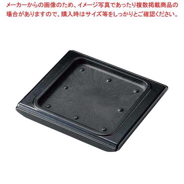 【まとめ買い10個セット品】 【 業務用 】ステーキ台 角用 ブラウン M44-102