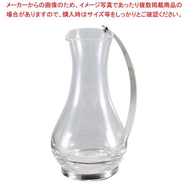 【まとめ買い10個セット品】 【 業務用 】ガラス ウォーターピッチャー NO.3030(W)