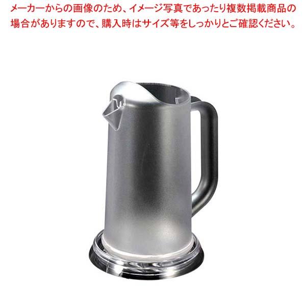 【まとめ買い10個セット品】 【 業務用 】BK ポリカーボネイト ワンボディピッチャー 1.3L クリア