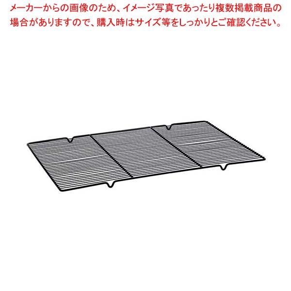 【まとめ買い10個セット品】 【 業務用 】ステンレスすのこ DS522 60型 ブラック 600×400
