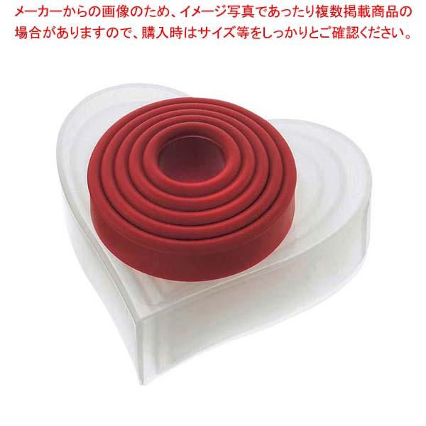 【まとめ買い10個セット品】クイジプロ クッキーカッター ハート型【 製菓・ベーカリー用品 】 【厨房館】