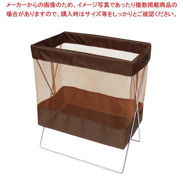 【まとめ買い10個セット品】 【 業務用 】サイドワゴン・メッシュL(マジックテープ留め仕様) R-330 ブラウン