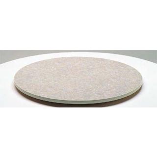 【 業務用 】ターンテーブル(メラミン化粧板・ソフトエッジ巻)TT3-750 【 メーカー直送/代金引換決済不可 】