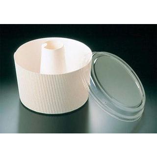 【まとめ買い10個セット品】蓋付 シフォンカップ(50枚入)白 無地 SC-840-A【 製菓・ベーカリー用品 】 【厨房館】