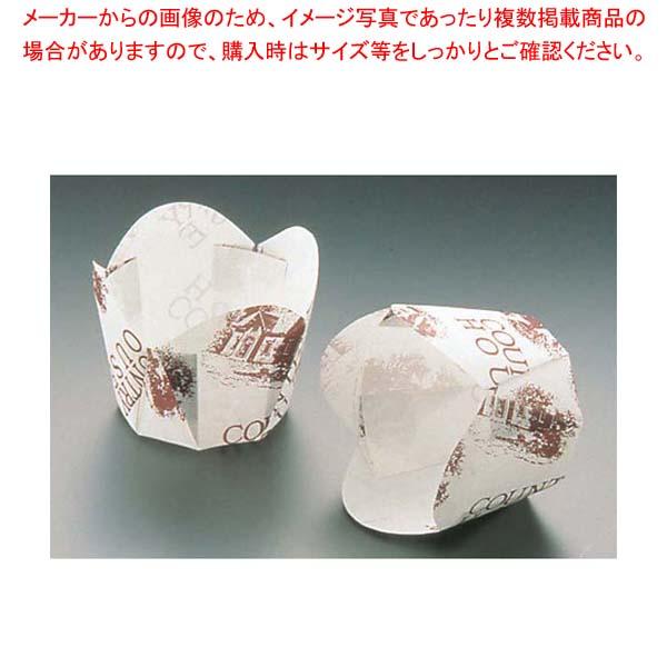 【まとめ買い10個セット品】チューリップカップ(100枚入)白 M-304 φ50【 製菓・ベーカリー用品 】 【厨房館】