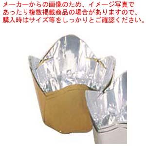 【まとめ買い10個セット品】 【 業務用 】アルミケース チューリップ型(100枚入)60号 金