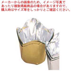 【まとめ買い10個セット品】 【 業務用 】アルミケース チューリップ型(100枚入)55号 金