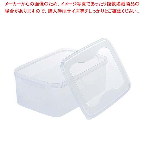 【まとめ買い10個セット品】 【 業務用 】ぬか漬 シール容器 角 5L