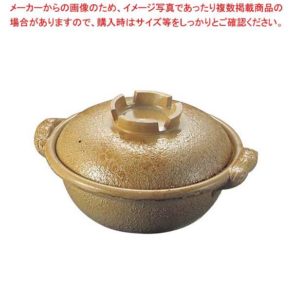 【まとめ買い10個セット品】 【 業務用 】アルミ 電磁調理器用 土鍋 33cm 幸楽色
