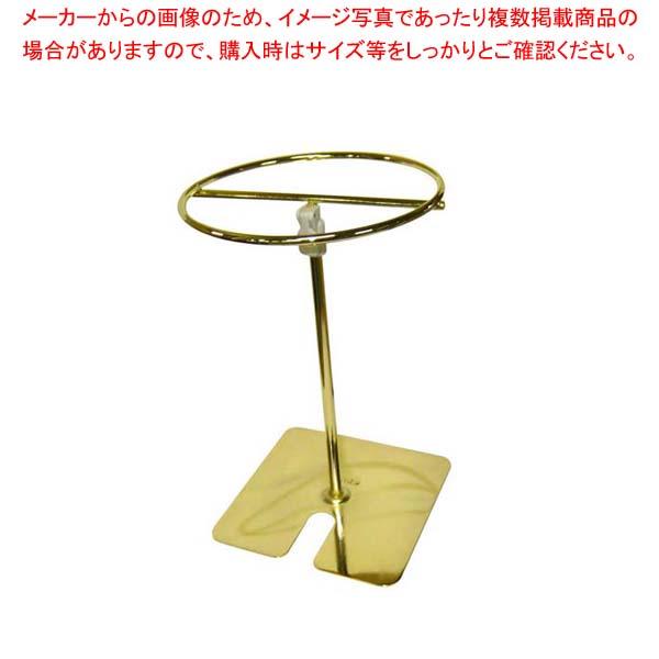 【まとめ買い10個セット品】 【 業務用 】トングスタンド(伸縮式)III型 ゴールド