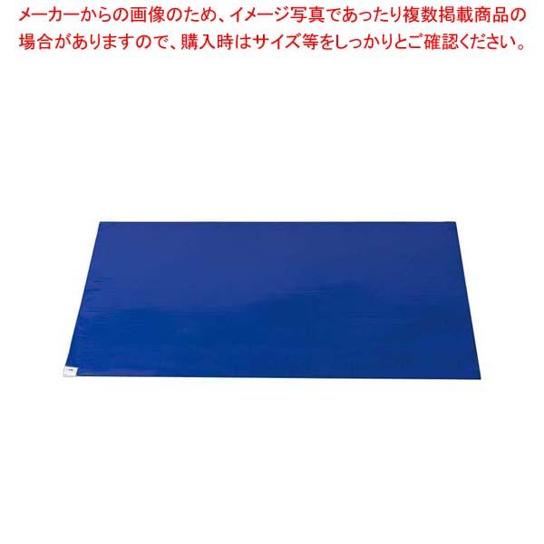 【まとめ買い10個セット品】 【 業務用 】粘着マット(30枚入) ブルー