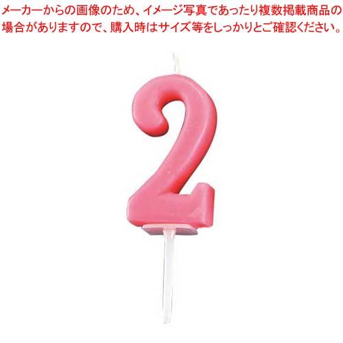 【まとめ買い10個セット品】 【 業務用 】ナンバーキャンドル パステル(10入)2番 B7501-07-02RS