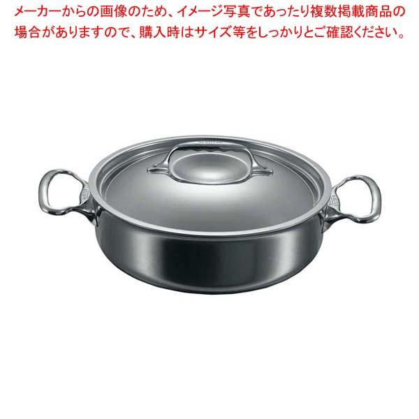 【 業務用 】デバイヤー アフィニティ ソテーパン両手(蓋付)3741-24cm